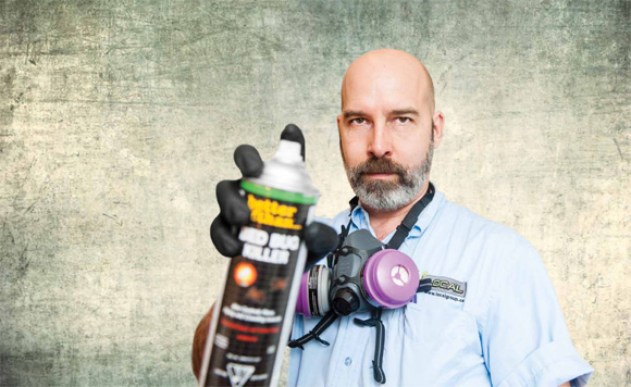 Pest controller Darin Craig is on the frontlines of Vancouver's bed bug problem.