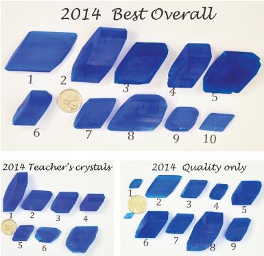 2014 Best Overal Cyrstals