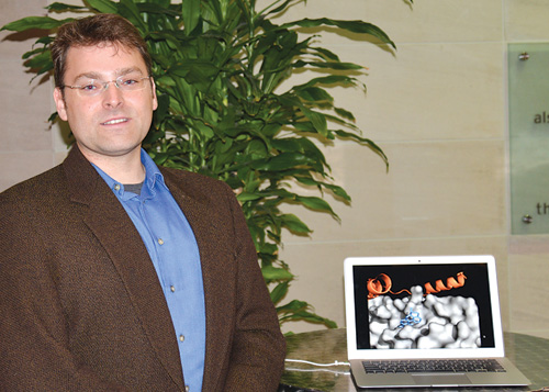 Abe Heifets is the CEO of Chematria Inc., a startup that uses computer algorithms to search for new drug candidate molecules.
