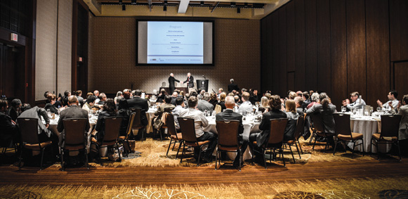 Science and industry celebrated their accomplishments at the CIC/SCI Canada Business Innovation Seminar and Awards Dinner.