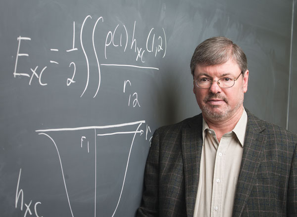 Axel Becke's ground-breaking contributions to chemical theory underpin computer models in all fields of chemistry.