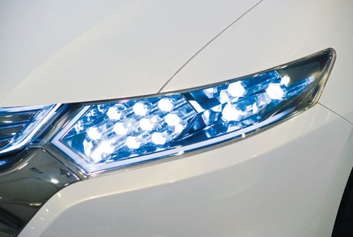 An increasing number of vehicle headlights — as well as traffic signals, billboards and television monitors, among other consumer products — are constructed­ of light emitting diodes, a once-exotic technology that is on its way to replacing conventional light bulbs as a mainstay of modern living.