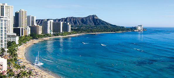 Honolulu was a spectacular setting for the Pacifichem conference.