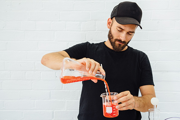 Toronto's Irwin Adam Eydelnant designs new foods based upon chemical engineering principles.
