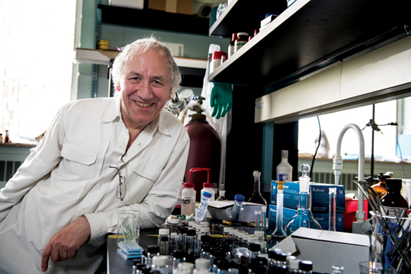 Geoffrey Ozin attributes­ his achievements in nanochemistry­ to his early failures and lack of planning. Photo credit Terence Scarnicchia