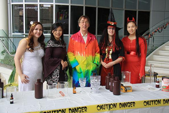 Sarah Coombs, Yu-Ru Lee, Geoff Rayner-Canham, Robin Taylor and Chaim Andersen