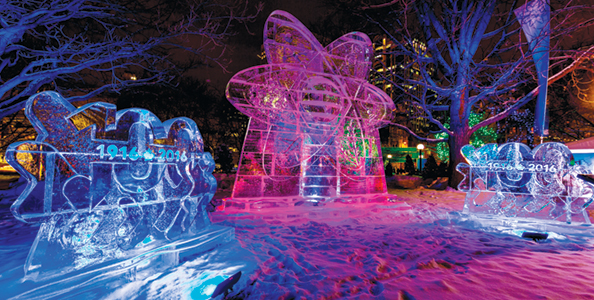 The NRC showcased 100 years of innovation at Winterlude 2016 in Ottawa.