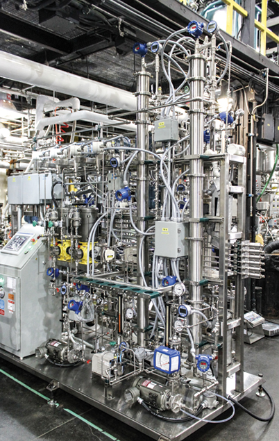 An industrial-scale pilot plant developed by Forward Water is demonstrating the commercial potential of the company's innovative water treatment technology.