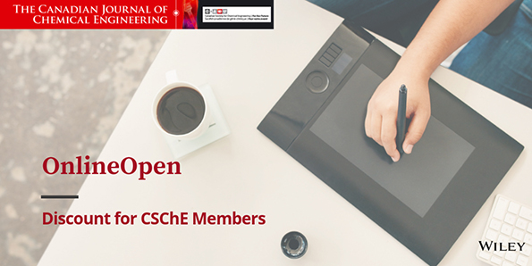 Can. J. Chem. Eng. offers open access discount to CSChE member
