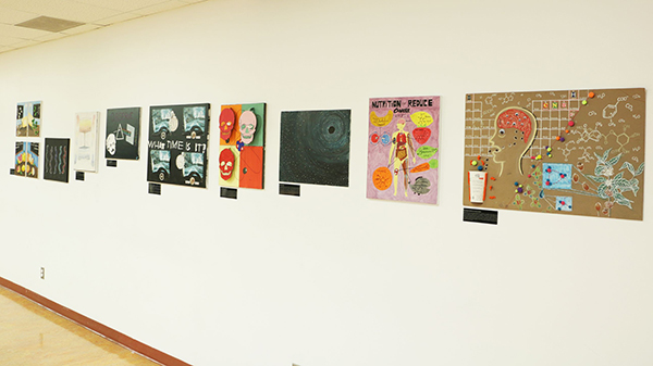 Samples of Art & Science Projects.