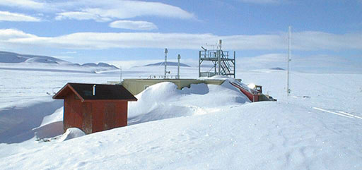 Global Atmosphere Watch Observatory at Alert, Nunavut, the key site of persistent organic pollutant monitoring in the Canadian Arctic