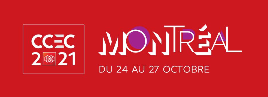 CCEC 2021 Montreal image - Du 24 au 27 octobre