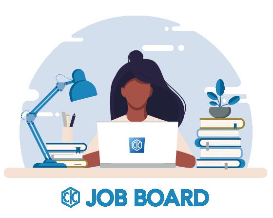 Job board image and logo