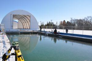 Sea ice research facility
